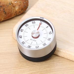 아쿠아바 틱톡 아날로그 타이머/주방용스톱워치시계