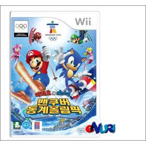 (Wii) 닌텐도 위 마리오와 소닉 벤큐버동계 올림픽