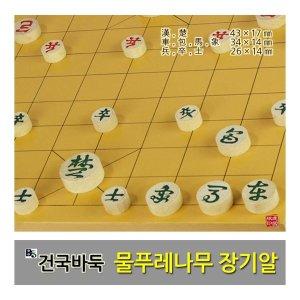 건국바둑/부산바둑  물푸레나무 장기알/장기판