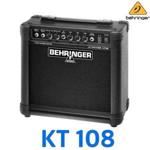 KT108/KT-108/키보드앰프/20W/다용도앰프/베링거/8인