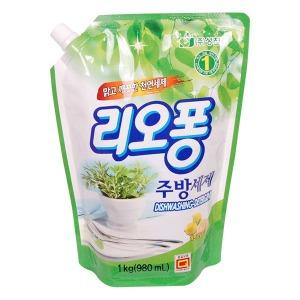 1종 주방세제 리오퐁 1kg/과일세척/트리오