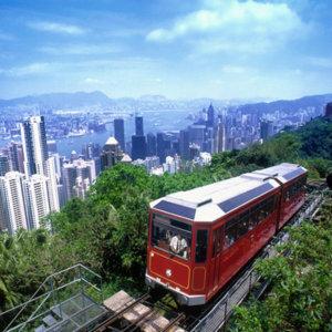 홍콩 왕복 항공권