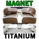 최고급 안경착용자용 (안경테+MAGNET) 편광선글라스