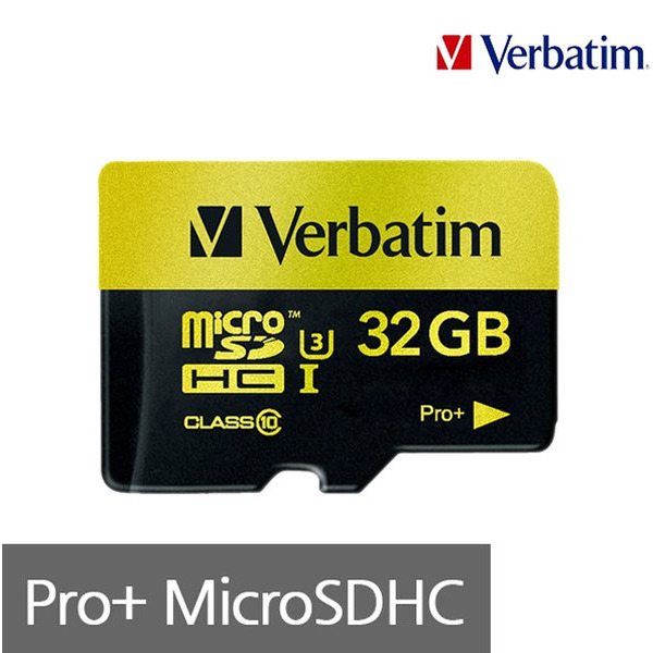 버바팀 메모리카드 microSDHC Pro+ 32G MLC /블랙박스