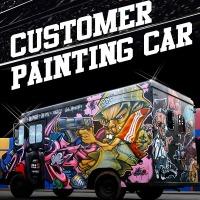 카페인팅 커스텀 페인팅 차량도색 퀄리티 상담가능