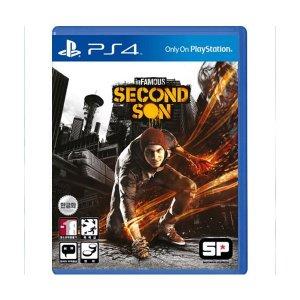 (PS4) 인퍼머스 세컨드선 정식발매 중고제품