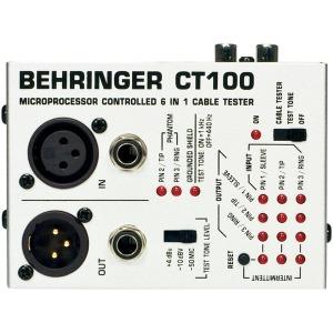 CT100/베링거 오디오 솔루션 케이블테스트/CT-100