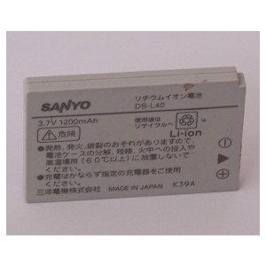 산요디카용 배터리 DB-L40 (3.7V 1200mAh) 벌크재고