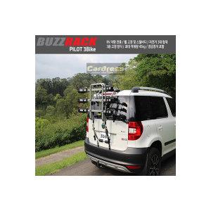 2018버즈랙파일럿중대형RV자전거캐리어바퀴고정식3대