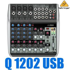 XENYX Q1202USB USB 오디오믹서/베링거