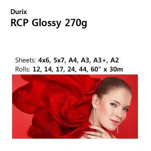 두릭스 RCP Glossy 270g/휴대폰사진/인화지/4x6 400매