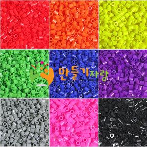 칼라비즈 50g/100g/컬러비즈/만들기재료/모양판/비즈/