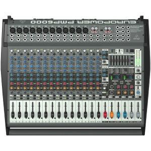PMP6000/PMP-6000/파워드믹서/베링거/앰프내장형믹서