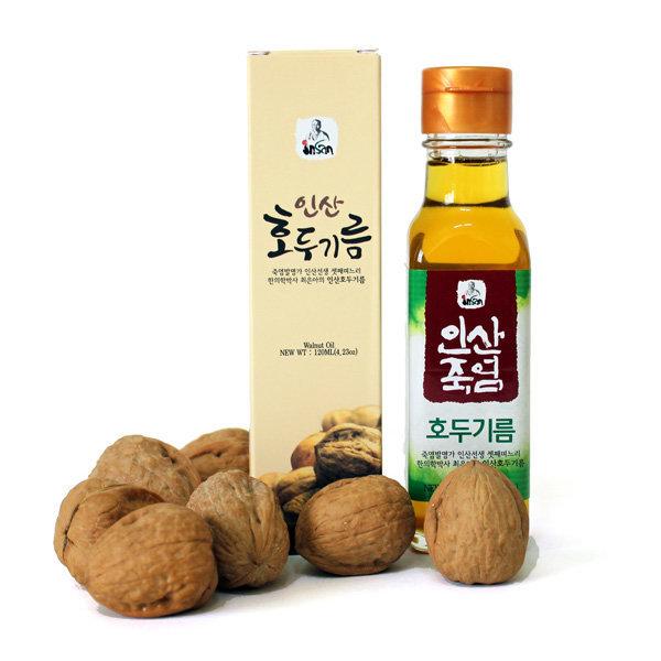 인산 호두기름 120ml /쌀밥에 3번쪄서만든 호두기름