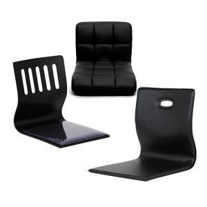 좌식 의자 모음 학생 컴퓨터 책상 테이블 등받이 쿠션