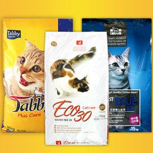 캣츠아이에코30 15kg 프로베스트캣 태비 고양이사료