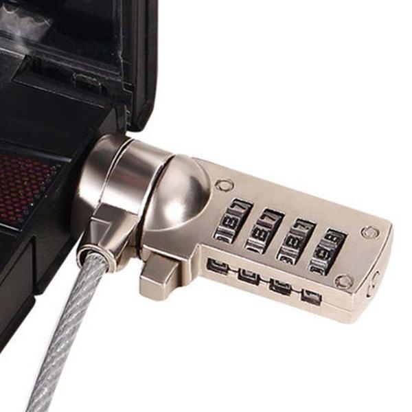 캔싱턴락 노트북잠금장치 도난방지 자물쇠 번호열쇠