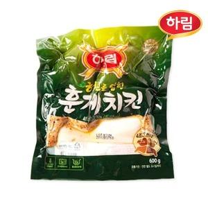 하림 허브를 입힌 훈제치킨600g/훈제통닭
