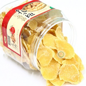 봉동 편강 500g 생강 즙 가루 국산 과자 스낵 칩 간식