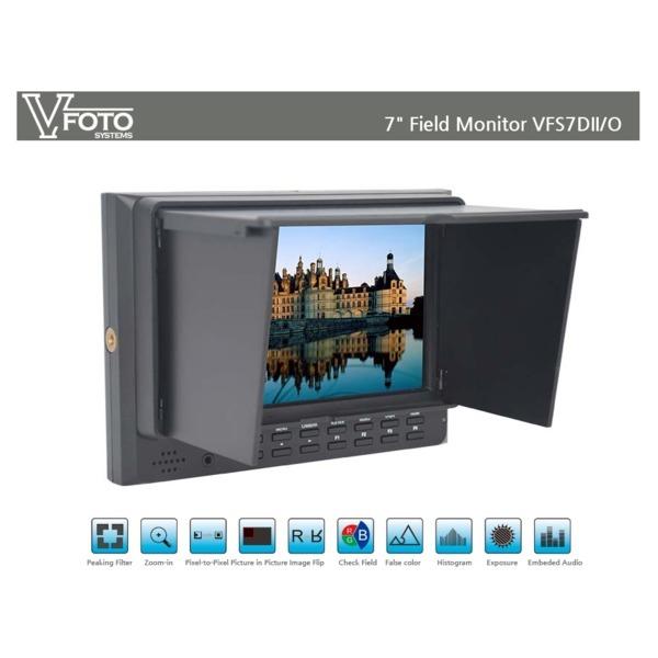 VFoto systems 브이포토 7인치 필드 모니터 VF-7DII 0