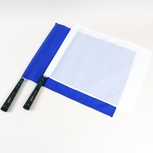 NISPO 고급 청백기/신호용 수기세트 1조