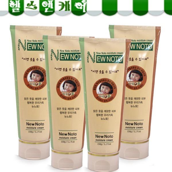 뉴노토 보습크림 150g 4개/수분크림/보습제/노토피