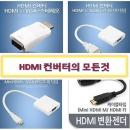 HDMI 컨버터의 모든것 HDMITORGB MINI HDMI TOVGA