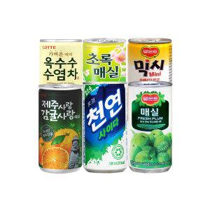 제주사랑 감귤 175ml 30캔 사이다 미닛메이드 음료수