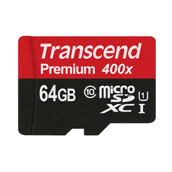 트랜센드 microSDXC Class10 Premium 400X UHS-1 64GB