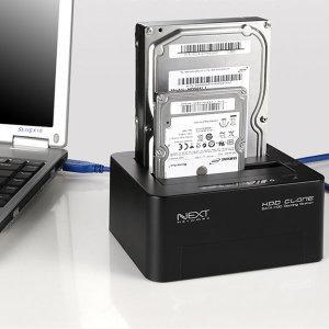 이지넷 NEXT-952DCU3 USB3.0 2Bay 콤보 도킹스테이션`