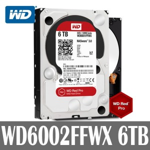 WD 6TB 7200RPM 128MB REDPRO NAS HDD WD6002FFWX MOD