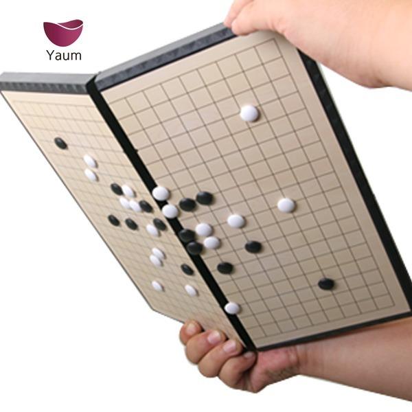 성인용 휴대용 접이식 자석바둑판세트 선물용 체스판