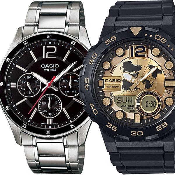 [CASIO] 정품 메탈전자손목시계 남자여자방수 MTP-1374D-1AVDF