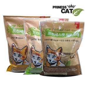 프린세스캣 두부모래 7LX3개/두부모래/고양이모래