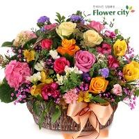 옥션 판매1위 가장빠른 당일전국배달 꽃바구니 꽃배달