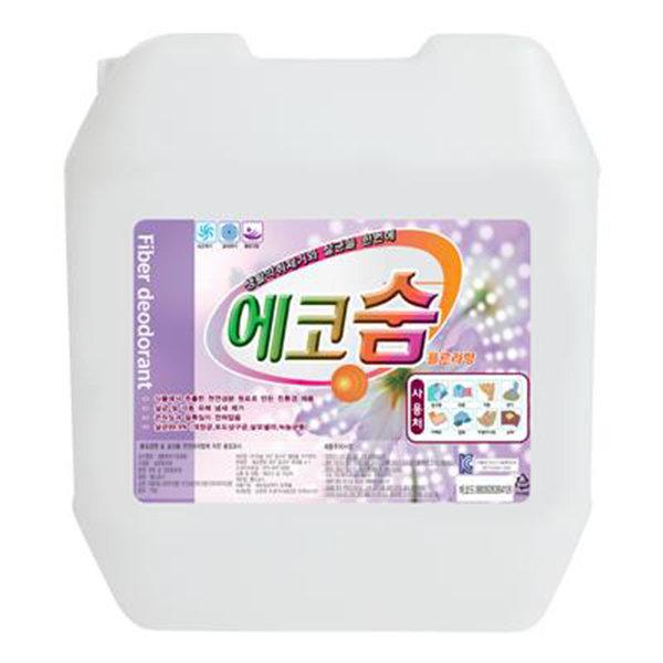 OC 섬유탈취제 에코숨 18.75L/CH1104351/섬유탈취제