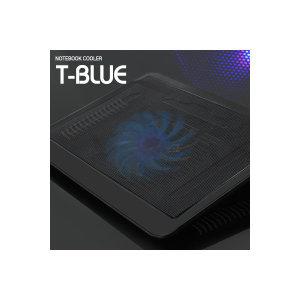 T-BLUE 노트북쿨러/저소음/각도조절가능