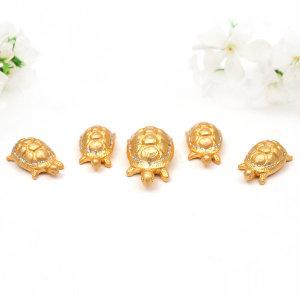 거북이5P(중)금색/금인형/인테리어/장식인형/거북이