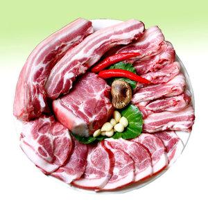 제주 흑돼지 1kg 2kg 3kg