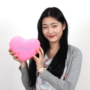 돌앤돌스/Love 하트쿠션_소형/판촉물 사은품 단체선물
