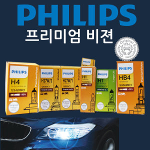 필립스프리미엄비전30%더밝기/순정타입/전조등/안개등