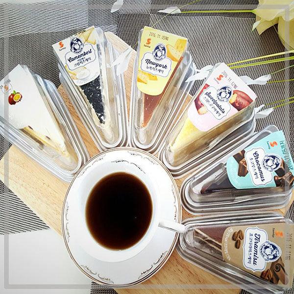 최저가도전 삼립 조각케익 5종 /간식/빵/초코/치즈