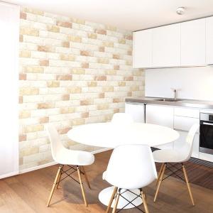 포인트벽지 벽돌 타일 스티커 주방 욕실 단색 아이방