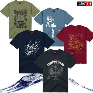 M~3XL 비침없는 20수 반팔티 티셔츠 빅사이즈 쿨론 티