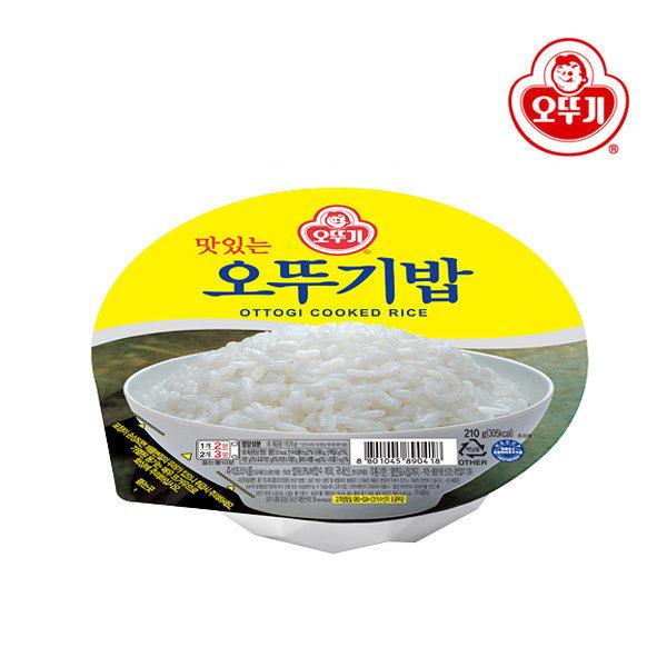 오뚜기 맛있는 오뚜기밥 (210g x 24개입)