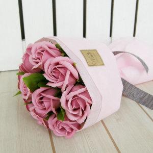 러블리돈다발-10송이-체리블라썸 비누꽃다발 생일선물