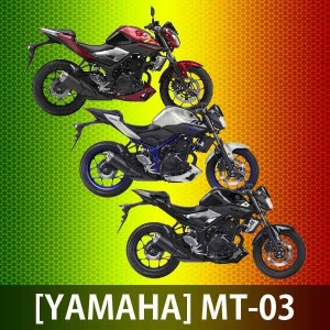 YAMAHA  야마하 MT-03 MT03 YZF-03 바이크 오토바이