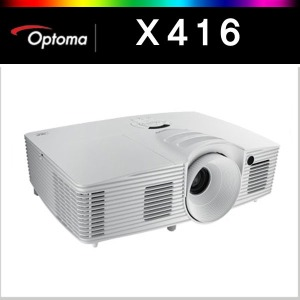 옵토마 프로젝터 X416 /4300안시/7000시간