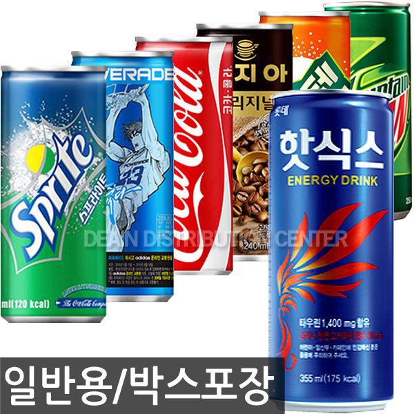핫식스 레쓰비 콜라 사이다 펩시 스프라이트 /커피/캔