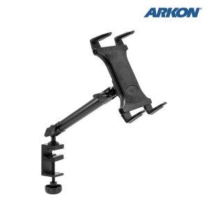 TAB804 아콘 ARKON 슬림그립 다목적 태블릿 거치대 - 헤비듀티 10 1관절 클램프 고정식 (25cm)
